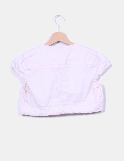 Torera rosa pastel