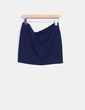 Falda mini azul marino NoName