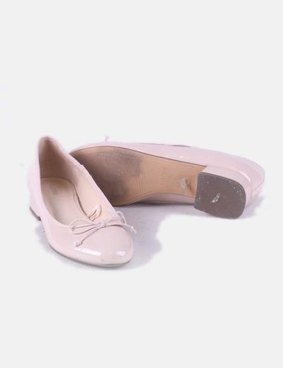 2672f33fb31 Parfois Bailarina rosa palo charol (descuento 61%) - Micolet