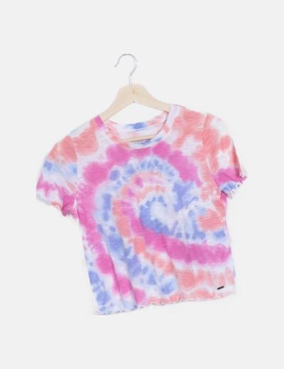 Camiseta manga corta tie dye