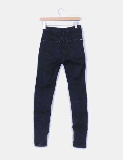 Pantalon negro denim