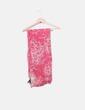 Foulard estampado rosa Purificación García