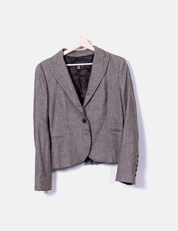 Chaquetas Y Gris Online Zara Abrigos Z0w8w4qx De Blazer Baratos Mujer Espiga qcRW0EE