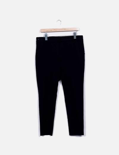 Pantalón negro pitillo Women only