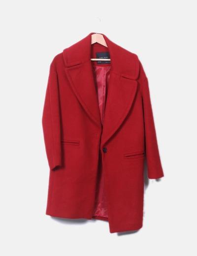 Roter mantel damen zara