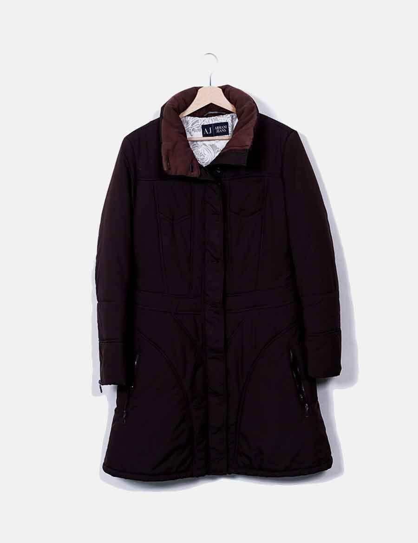 a9b567cd007 marrón Mujer Armani y de online acolchado Abrigo Chaquetas Jeans baratos  Abrigos SOf45qwx