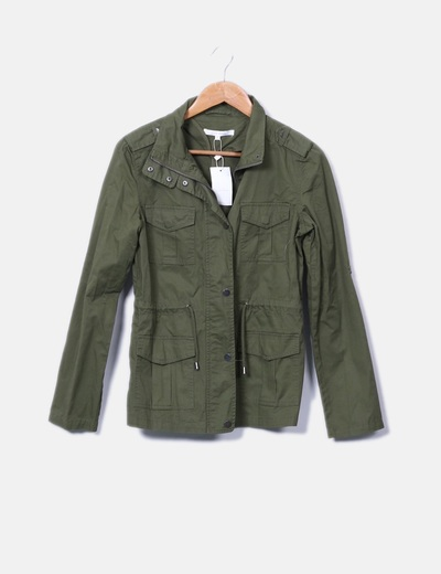 Parka verde Easy Wear