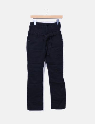 Pantalon noir taille haute Vero Moda