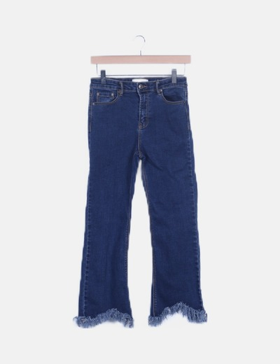 Jeans croped flare