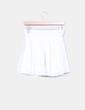 Mini falda cruda bordada Suiteblanco