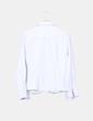 Camisa blanca de rayas Naf Naf