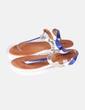 Sandalia de tiras tricolor Georges Rech