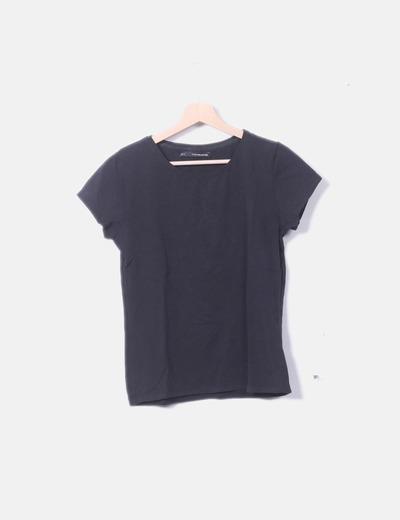 05b6a407b684c Sfera Camiseta manga corta negra (descuento 70%) - Micolet