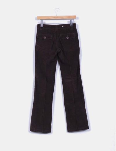 Pantalon marron de pana