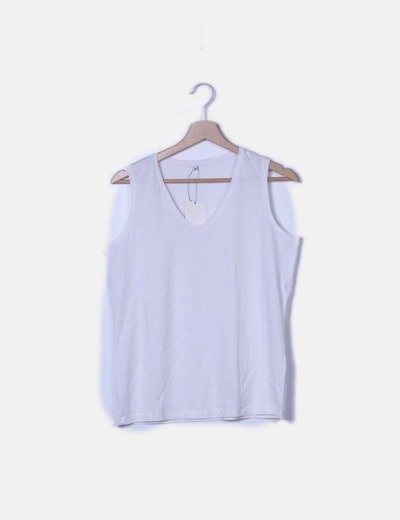 Camiseta lisa blanca