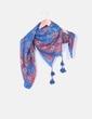 Foulard azul estampado  Amichi