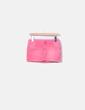 Mini falda rosa con bolsillos Black Bat