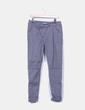 Pantalón gris texturizado Pull&Bear