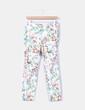 Pantalón floral Zara