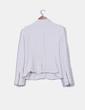 Chaqueta tweed color crudo Zara