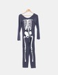 Mono gris print esqueleto Women'secret