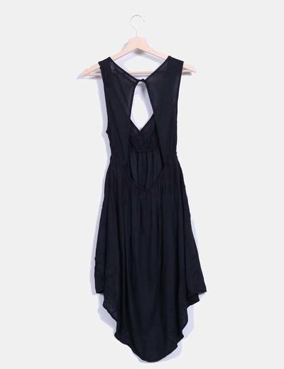 Vestidos negros con la espalda descubierta