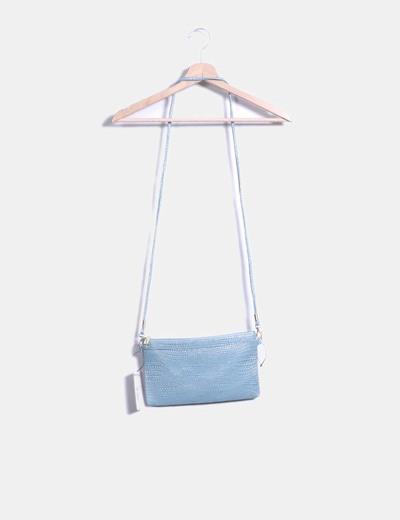 Bolso Turquesa Brillante Bolso Azul Texturizado Texturizado QCBWrdexoE