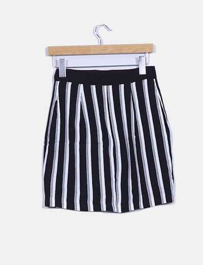 Falda bicolor mini