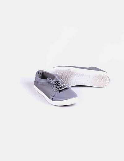 Bamba gris combinada