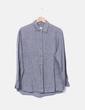 Camisa gris jaspeada Liz Claiborne