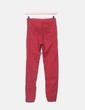 Pantalon rouge ajusté Bershka