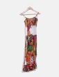 Vestido midi de tirantes multicolor GOA