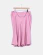 Falda rosa palo texturizada NoName