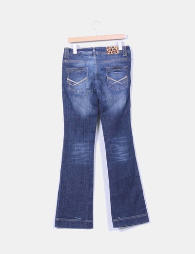 Jeans vaquero acampanado