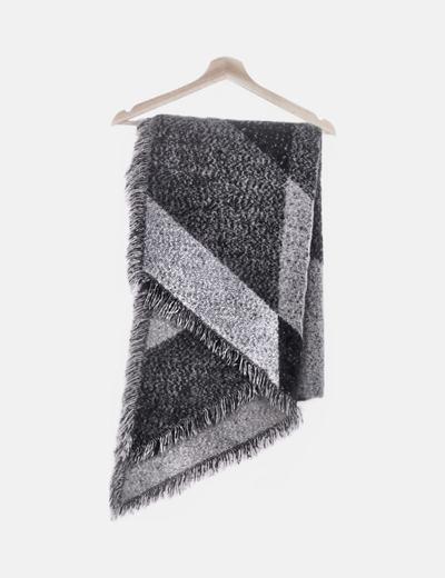 Maxi foulard gris