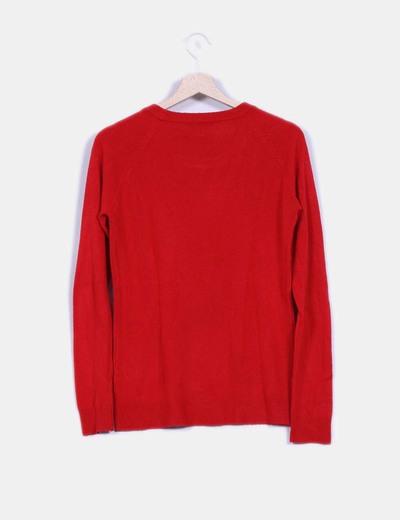 Jersey rojo de punto