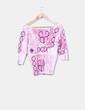 Camiseta de punto con abalorios Louise Fd