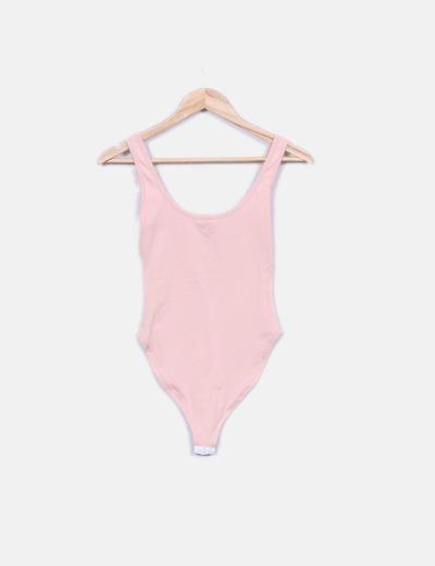 Body rosa print pepsi