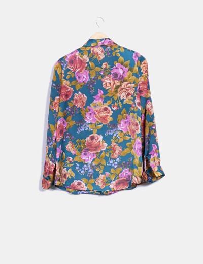 Camisa estampado floral