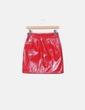 Mini falda charol rojo Loavies