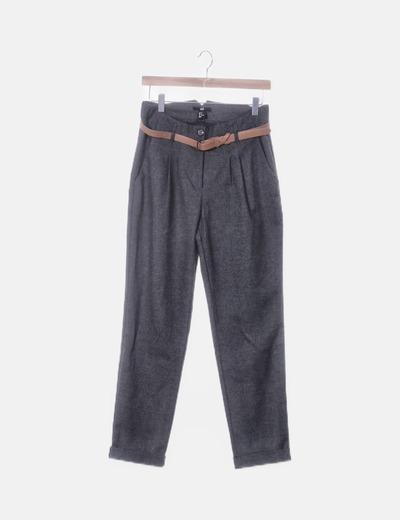 Pantalón gris de paño