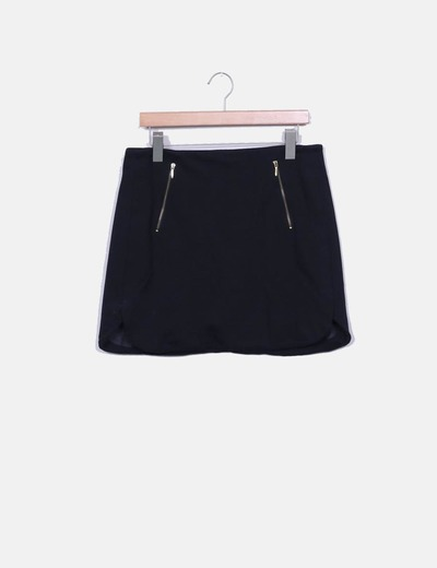 Falda mini negra Elogy