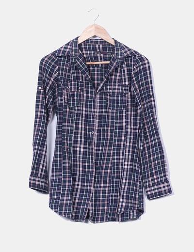 Camisa a cuadros Zara