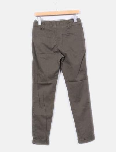 Pantalon baggy verde khaki