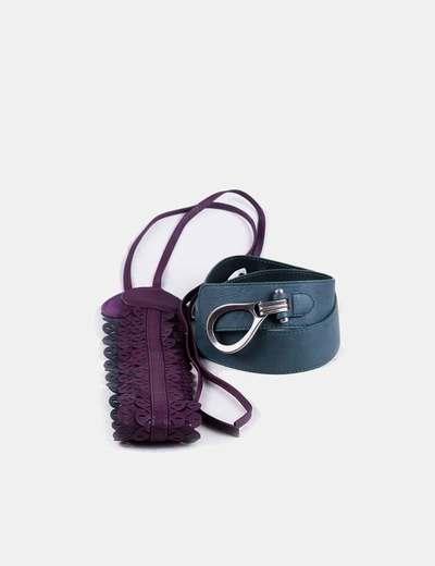 Conjunto de cinturones anchos