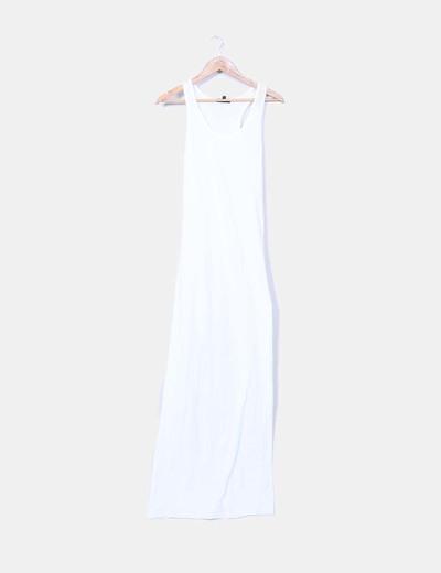 Maxi vestido blanco d tirantes