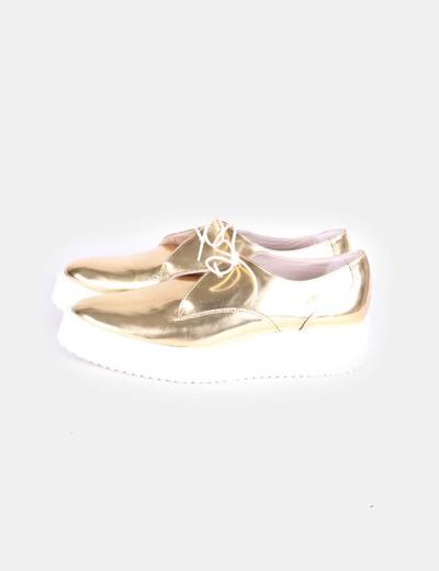 Zapatos De Tacon Dorados Zara Zara sandalia jLMGUVqSzp
