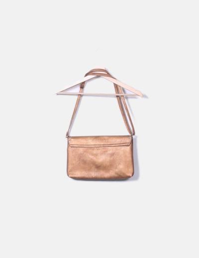 bb3fec5fe NoName Bolso color bronce con tachas (descuento 81%) - Micolet