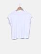 Camiseta blanca print dog Mango