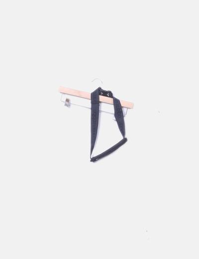 Black sports waist bag Adidas